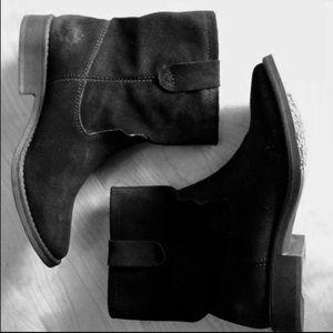 Zigi Soho Black suede boots